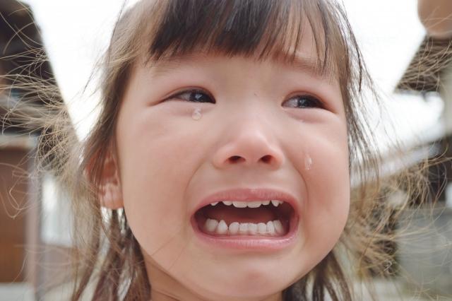 泣く女の子のサムネイル画像